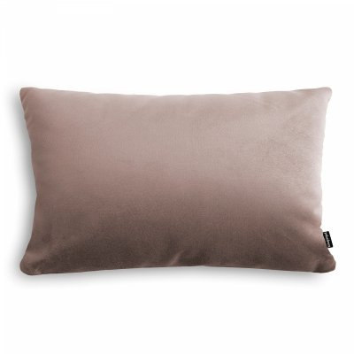 Velvet ciemno beżowa poduszka dekoracyjna 50x30