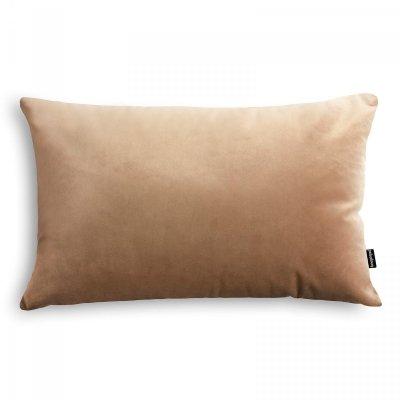 Velvet jasno beżowa poduszka dekoracyjna 50x30