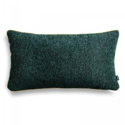 Alaska zielona błyszcząca poduszka dekoracyjna 50x30
