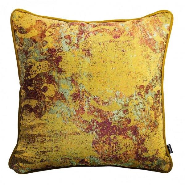Złoto-borowa poduszka dekoracyjna Gold 40x40
