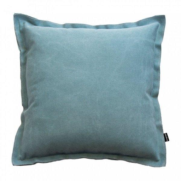 Loft błękitna poduszka dekoracyjna 45x45