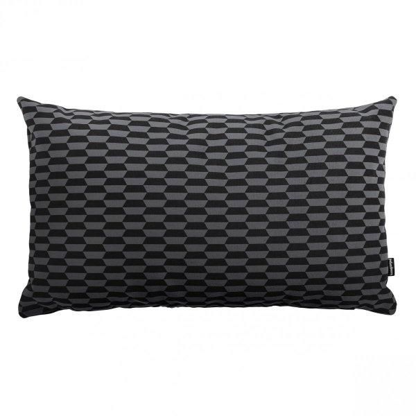 Break czarno-szara poduszka dekoracyjna 50x30