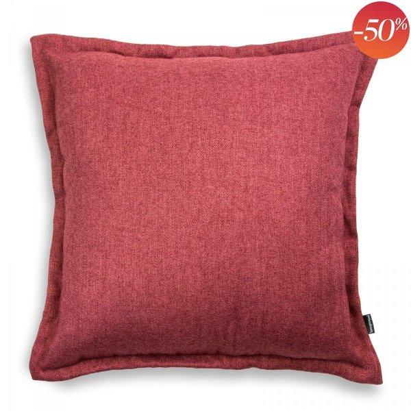 Tweed poduszka dekoracyjna Czerwona 45x45