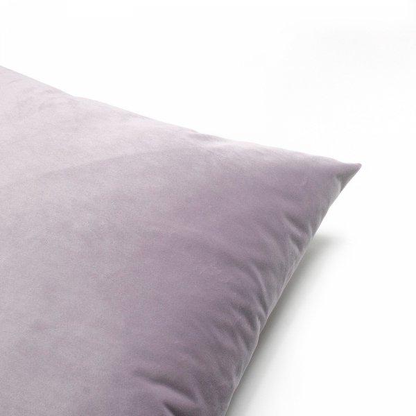 Velvet jasno fioletowa poduszka dekoracyjna 45x45