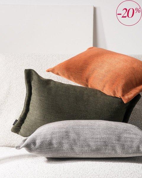 Fitto poduszka dekoracyjna 50x30 cm. zielona