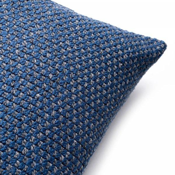 Ori granatowa poduszka dekoracyjna 50x30