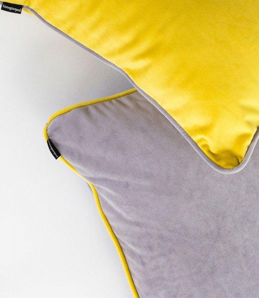 DUO szara poduszka dekoracyjna 40x40