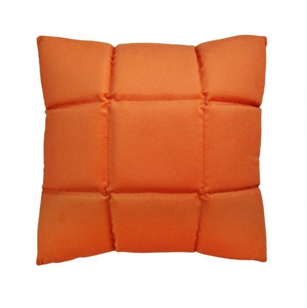 Trix duża poduszka dekoracyjna 50x50 cm. pomarńczowa MOODI