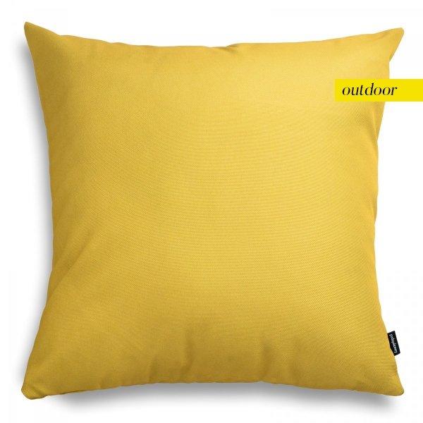 Żółta poduszka ogrodowa