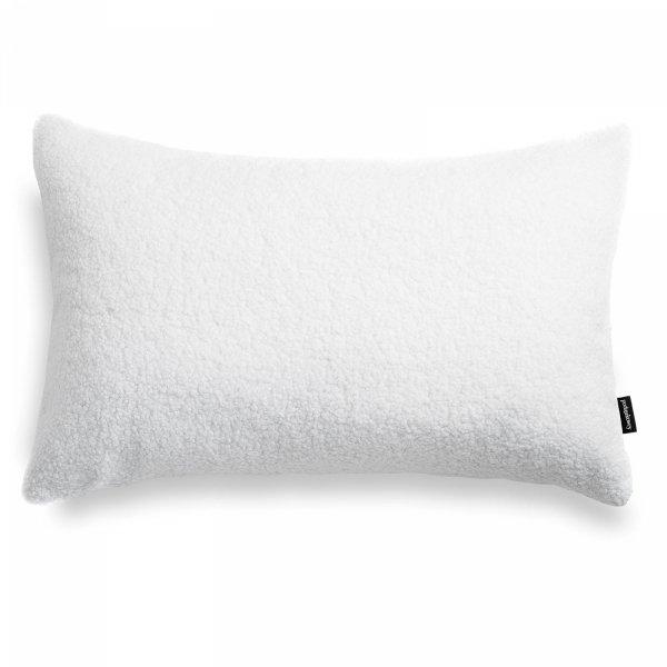 Cozy biała poduszka dekoracyjna 60x40