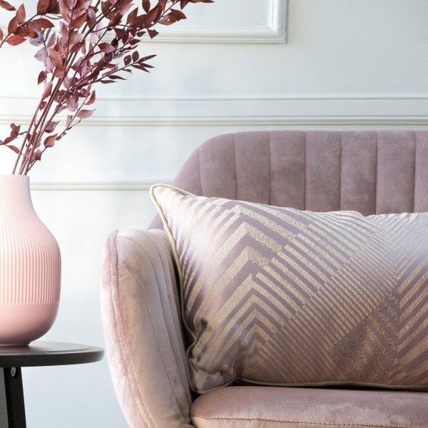 Lila poduszka dekoracyjna Glow 50x30