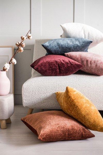 Bergen duża biała poduszka dekoracyjna 50x50