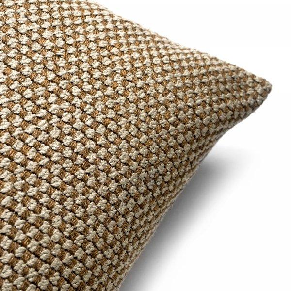 Ori brązowa poduszka dekoracyjna 50x30