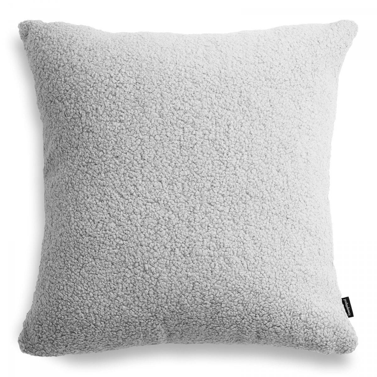 Cozy duża szara poduszka dekoracyjna 50x50