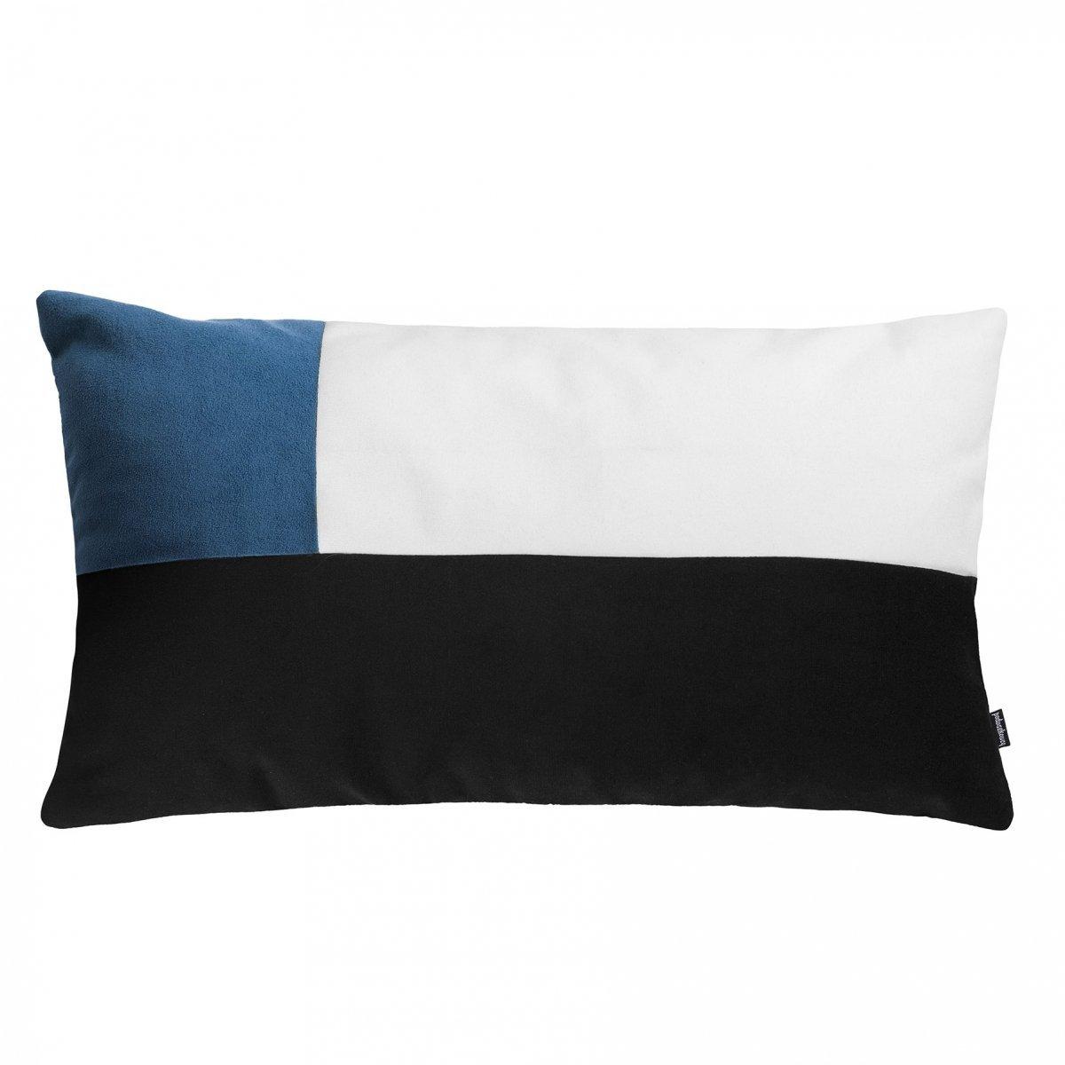 Pram M morska welurowa poduszka dekoracyjna 30x50 cm
