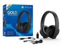 SŁUCHAWKI WIRELESS HEADSET SONY GOLD PS4 7.1