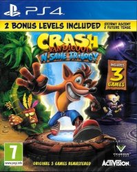 CRASH BANDICOOT N. SANE TRILOGY 2.0  PS4