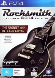 ROCKSMITH 2014 + KABEL PS4