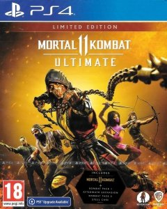 MORTAL KOMBAT 11 ULTIMATE LIMITED EDITION STEELBOOK PS4/PS5 PL