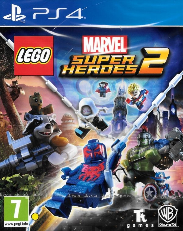 LEGO MARVEL SUPER HEROES 2 PS4 PL DUBBING
