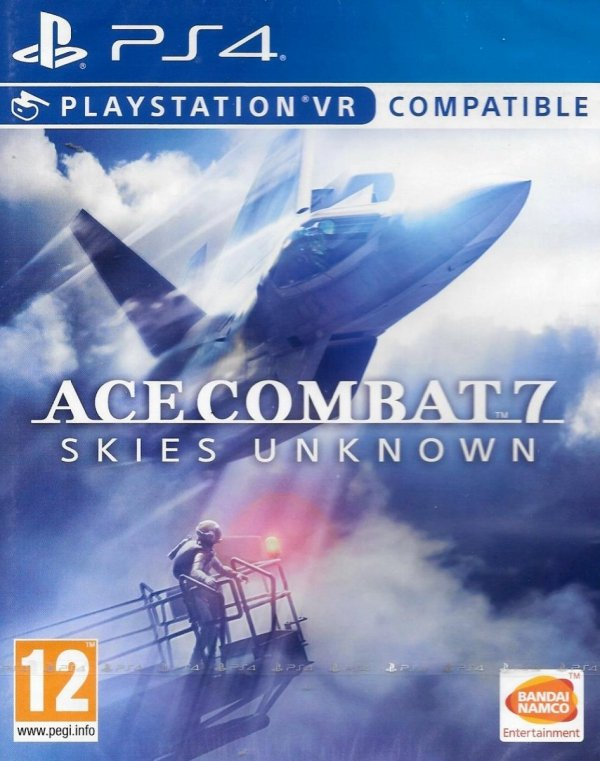 ACE COMBAT 7 SKIES UNKNOWN PS4 VR PL