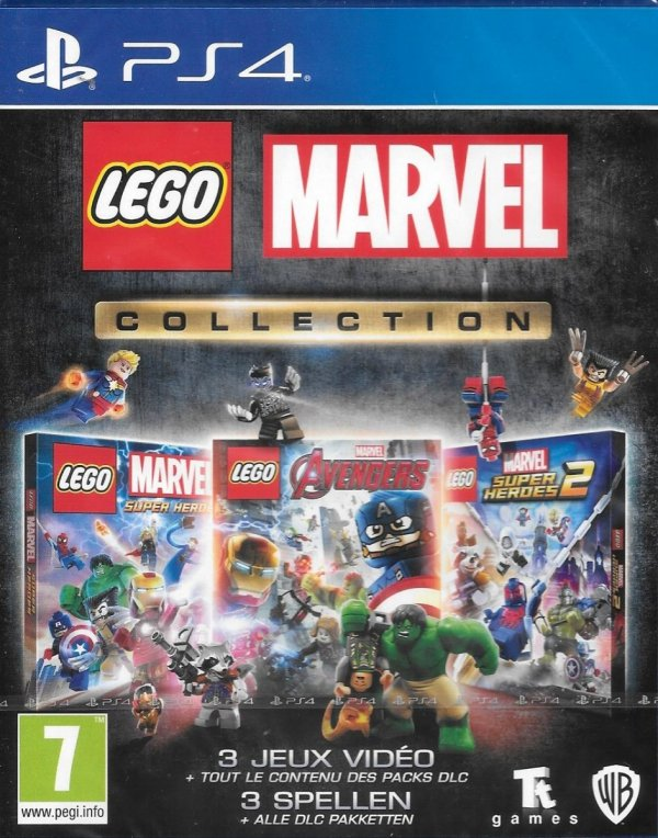 LEGO MARVEL COLLECTION 3 GRY PS4