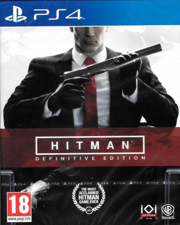 HITMAN DEFINITIVE EDITION PS4 PL