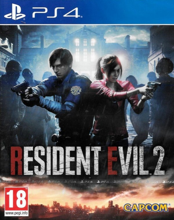 RESIDENT EVIL 2 REMAKE PS4 PL