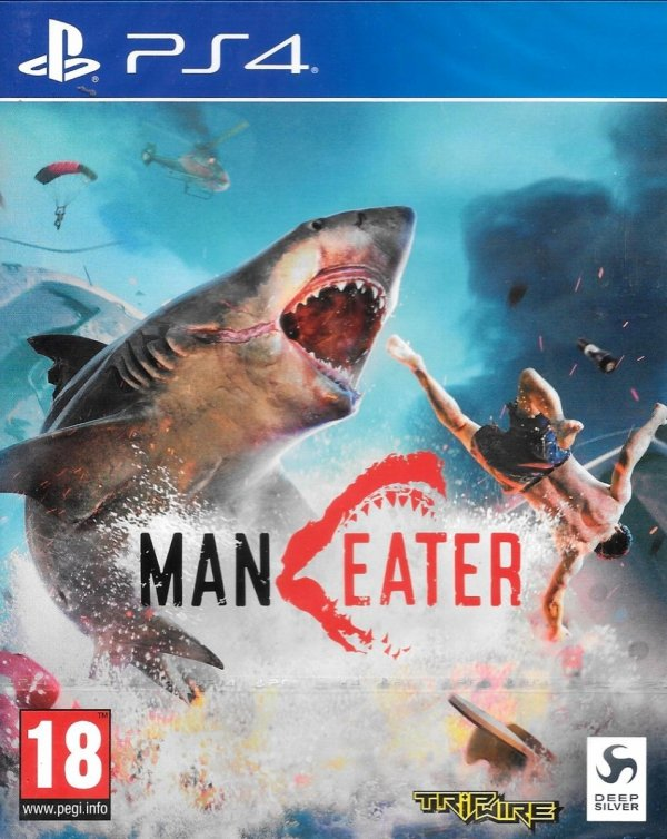MANEATER PS4 PL