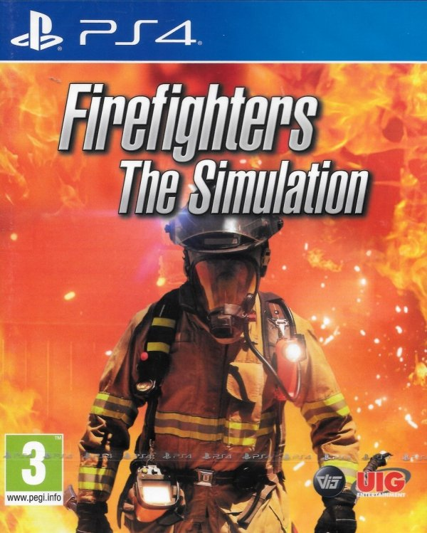 FIREFIGHTERS THE SIMULATION PS4