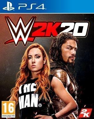 WWE 2K20 PS4 PRZEDSPRZEDAŻ PREMIERA 22.10.2019