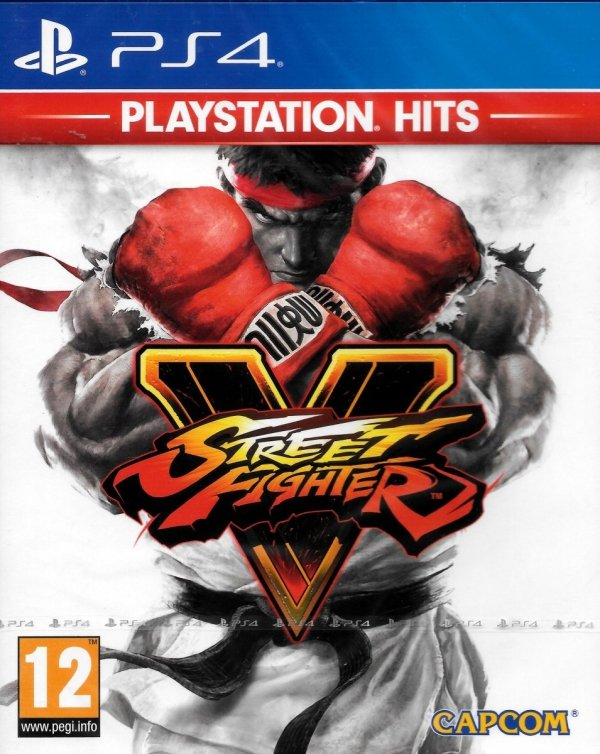 STREET FIGHTER V PS4 PL