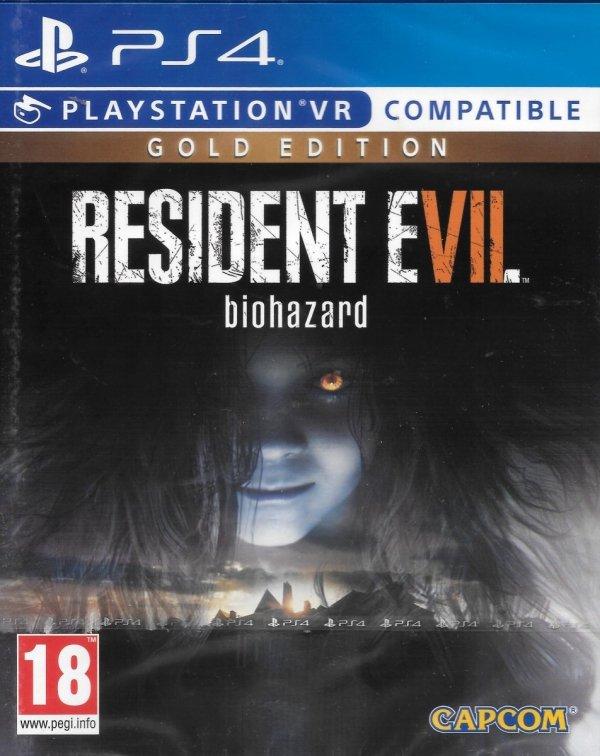 RESIDENT EVIL 7 BIOHAZARD GOLD EDITION PS4 VR PL