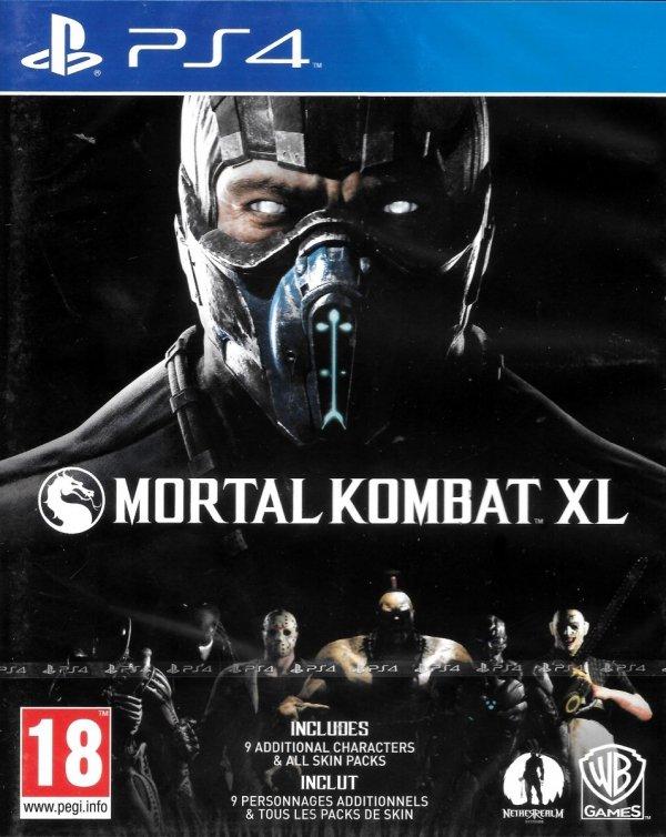MORTAL KOMBAT XL PL PS4
