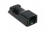 ATTE Konwerter / Spliter video i zasilania zakończony zaciskami śrubowymi oraz gniazdem 1xRJ45,
