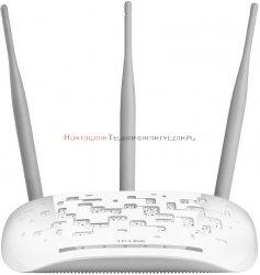 TP-LINK Access point WA901ND, WiFi b/g/n 300Mbps, odłączane anteny 3x5dBi