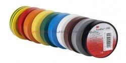 3M TEMFLEX 1300 taśma izolacyjna PCW 19mm X 20m różne kolory