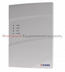 SLICAN centrala IPU-14.102 (6FXS, 16VoIP G729, 8REC)