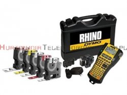 DYMO Rhino 5200 zestaw walizkowy Drukarka +5 taśm różne kolory