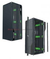 MMC Szafa RACK Technik 19 stojąca 42U 800x1000 drzwi dwuskrzydłowe perforowane, czarna