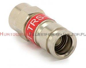 Wtyk kompresyjny typu F – gwintowany na kabel RG-59