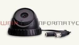 TAYAMA Kamera kolorowa kopułka 500TVL, HiRes CCD, 3.6mm, 0,1lux, 21 LED IR