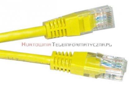 UTP Patch cord 1,5 m. Kat.6 żółty
