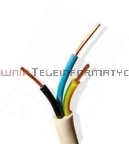 Kabel elektryczny drut 3x2,5mm YDY okrągły