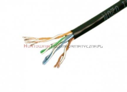 Kabel skrętka UTP linka, czarna