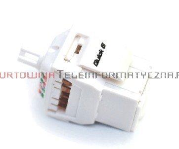 FIBRAIN DATA Quick UTP keystone RJ45 Kat. 6+ beznarzędziowy