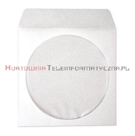 Koperta biała na płytę CD