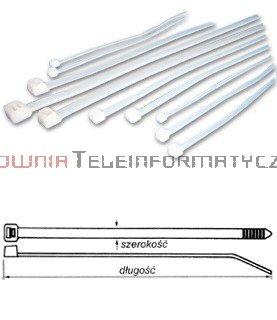 Opaska kablowa 4,8x370 (100szt)