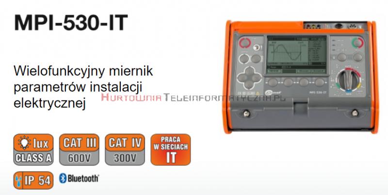 Wypożyczenie miernika elektrycznego SONEL MPI-530IT