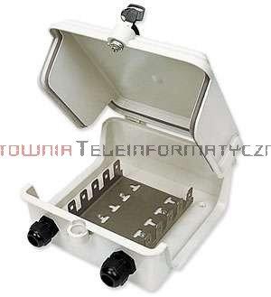 Box / skrzynka rozdzielcza LSA 50 parowa zamykana, hermetyczna